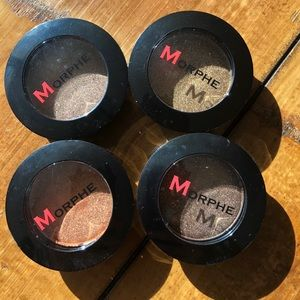 Morphe pressed pigment eyeshadow compacts set of 4